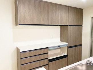 キッチンリフォーム オシャレで便利な自慢のキッチン収納