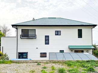 外壁・屋根リフォーム 家のイメージを保ったまま、キレイに塗りかえた外壁&屋根