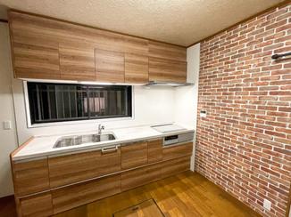 キッチンリフォーム 最新の設備を揃え、別空間のように生まれ変わった水廻り
