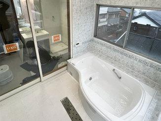 バスルームリフォーム お客様のセンスが光る、こだわりの在来浴室&洗面所