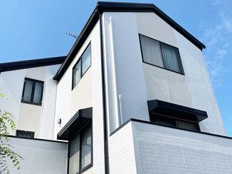 外壁・屋根リフォーム 色を変えて雰囲気が変わった外壁