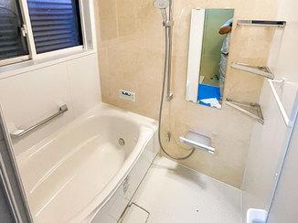 バスルームリフォーム 見違えるほどきれいになった浴室&洗面所