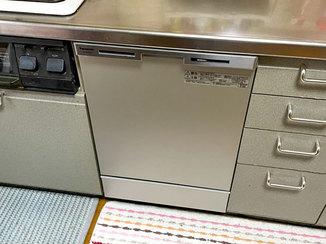 キッチンリフォーム 違和感なく取り替えた食器洗い乾燥機