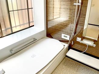 バスルームリフォーム お風呂を中心に使いやすくした快適な住まい